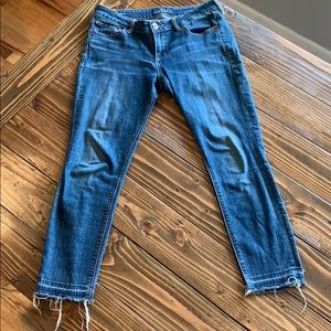 Lucky brand skinny denim jeans